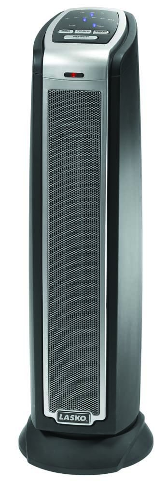 Lasko 5790 Oscillating Ceramic Tower Heater with Remote Control