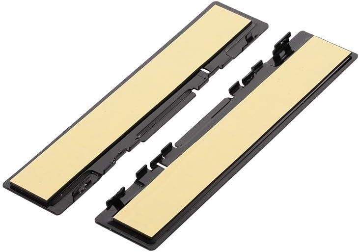 Festnight DDR Aluminium Heatsink Ram Memory Cooler Cooling Shim Spreader Black
