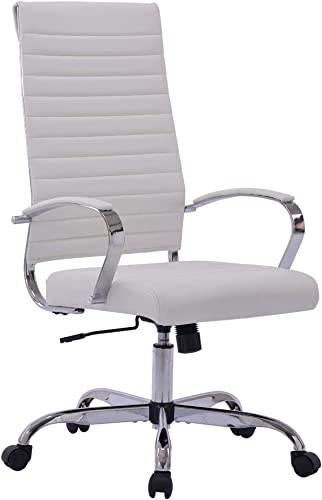Sidanli White Computer Chair