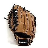 Sl-125 Leather baseball glove, outfield, size 12.5'', REG, brown, barnett