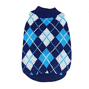 Norbi Pets Puppy Dogs Winter Warm Jumper Knit Sweater Clothes