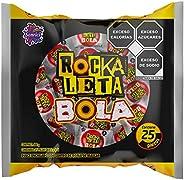 Rockaleta, Rockaleta Bola 25 Piezas, 400 gramos