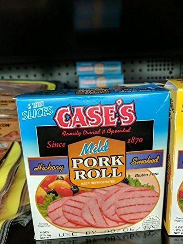 Case's Mild Pork Roll 6 Oz (8 Pack)