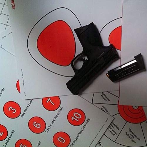 EZ2C Targets Style 17 25 Count Dot Torture Training Shooting Drill