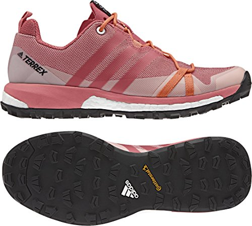 adidas Terrex Agravic W, Zapatos de Senderismo para Mujer Rosa (Rosa Rostac/rostac/narsen)
