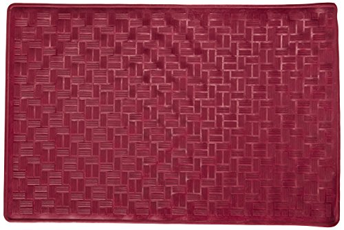Carnation Home Fashions Small 13-Inch by 20-1/2-Inch Rubb...