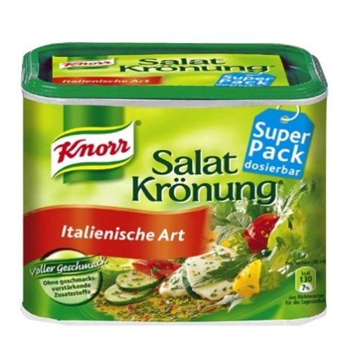 Knorr Salat Kroenung Italian Art Vinaigrette Mix- Container for 2.1 L