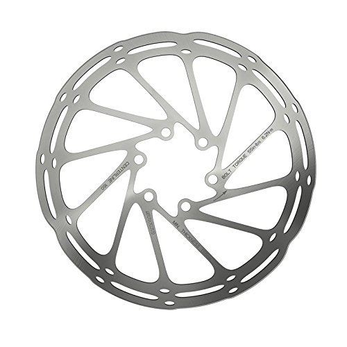 SRAM Centerline Rounded Rotor Silver, 160mm (Best Downhill Disc Brakes)