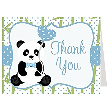 Amazon Thank You Cards Baby Shower Thank You Cards Panda