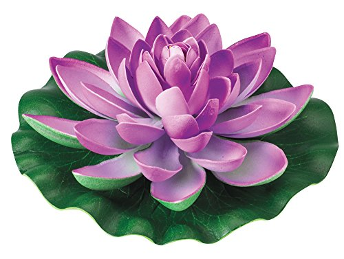 The Paragon Artificial Flowers - Fake Water Lily Plant, Realistic Outdoor Faux Silk Flower (Lily Water Lily Pots)