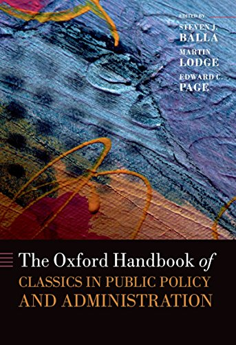 Download The Oxford Handbook of Classics in Public Policy and Administration (Oxford Handbooks of the Classics in Political Science) Pdf