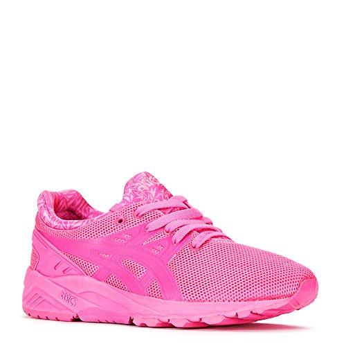Neon Trainer - Asics Men's Gel Kayano Trainer Shoes H51DQ.3535 Neon Pink/Neon Pink SZ 5