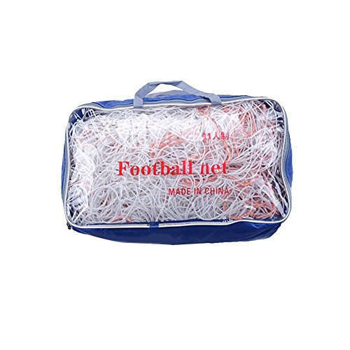 Gracefulvara 2M Football Net Match Soccer Full Size Goal Net - Kicking Cage