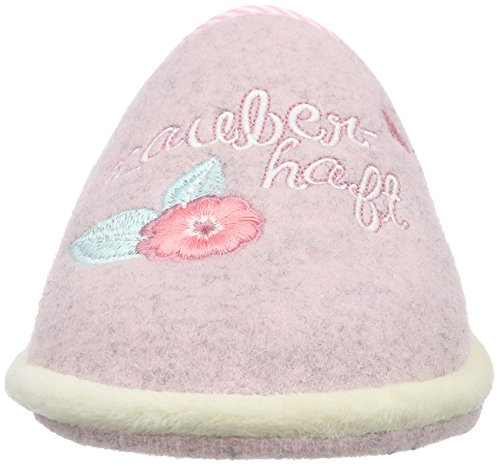 Pink Rose Adelheid Zauberhaft Doublées Puderrosa Filzpantoffel Femme 613 Pantoufles Non A6FSw0q