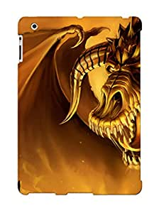 Defender Case With Nice Appearance (dragon Battle ) For Ipad 2/3/4 / Gift For New Year's Day