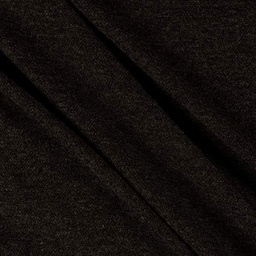 (Telio Juniper Sweater Knit Charcoal Fabric by the Yard)