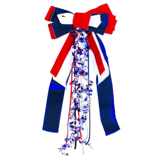 Patriots Pride Ribbon (red, white, blue) Party Accessory  (1 count) (1/Pkg) for $<!--Too low to display-->