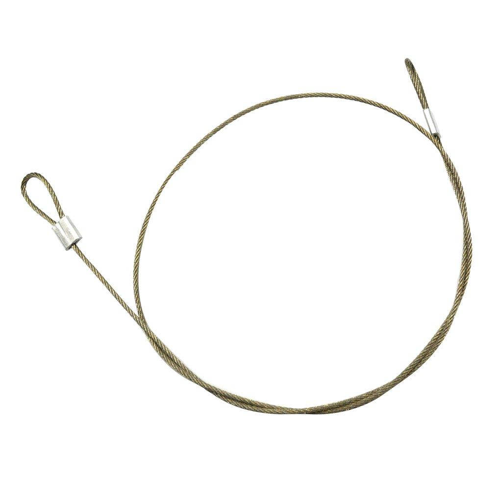 //3-30cm IPOTCH Cuerda de Amarre de Acero Inoxidable Herramientas Accesorios de C/àmara Gopro 4//3