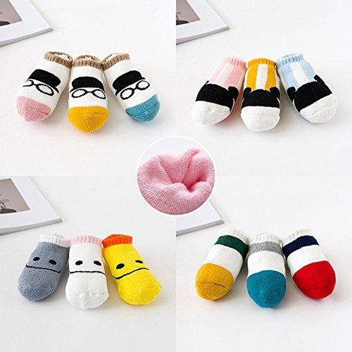 Baby Ragazzo Andyshi Sock a 24 0 da mesi Animal Print BqqdwE