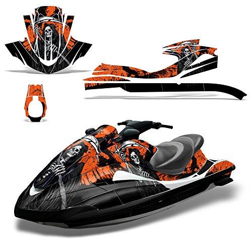 Yamaha Waverunner 2002-2005 Decal Graphic Kit Ski Wrap Jetski Wave Runner REAPER (Yamaha Decal Kits)