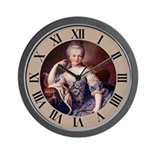 "CafePress - MARIE ANTOINETTE - Unique Decorative 10"" Wall Clock"