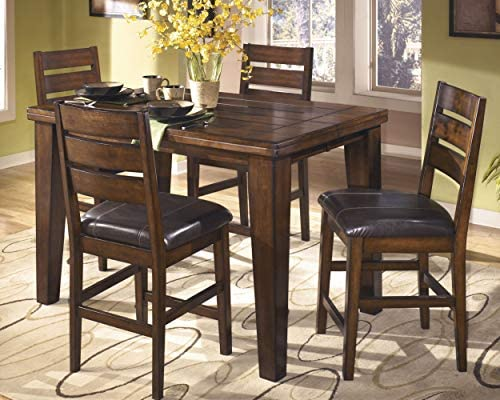 home, kitchen, furniture, kitchen, dining room furniture,  tables 4 discount Ashley Furniture Signature Design - Larchmont Dining Room Table promotion
