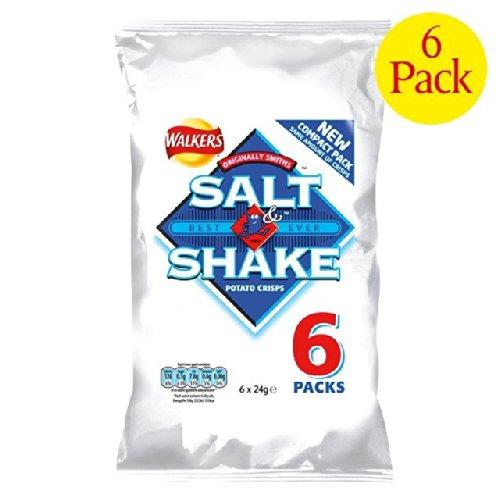 Walkers Salt & Shake Crisps 6 X 30G