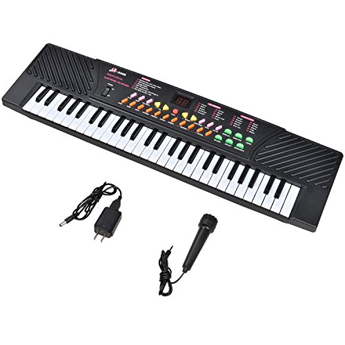 Learn More About 54 Keys Music Keyboard Kid Electronic Piano Organ Record Playback W/Mic & Adapter f...