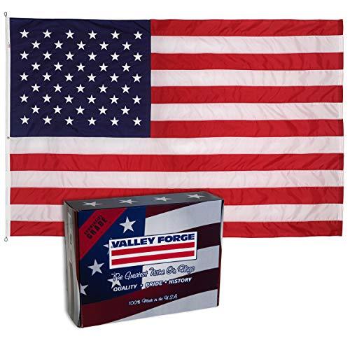 12x18' Nylon Flag - Valley Forge Flag 18221000 American Flag, 12'x18'