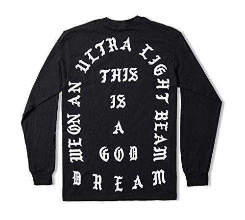 AA Apparel Feel Like Pablo Black Long Sleeve Shirt Life Of Pablo