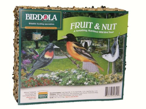 - Birdola 54329 2-Pound Fruit and Nut Seed Cake