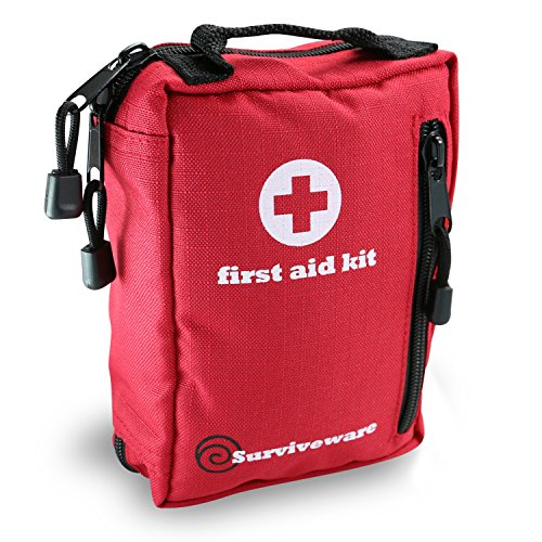 Small First Aid Kit Best for Hiking, Backpacking, Camping, Travel,