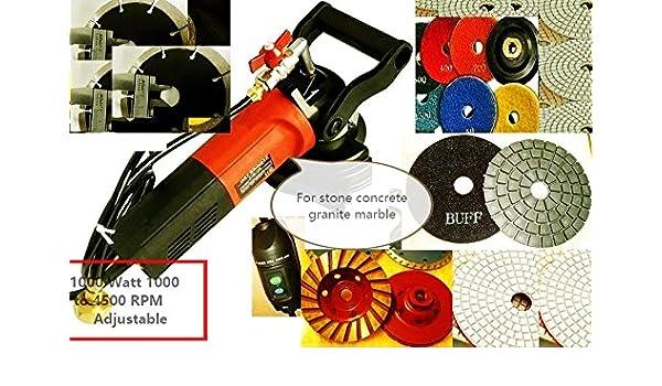 "Wet Stone concrete polisher cutter 5/"" Polishing Pad 18 for stone concrete block"