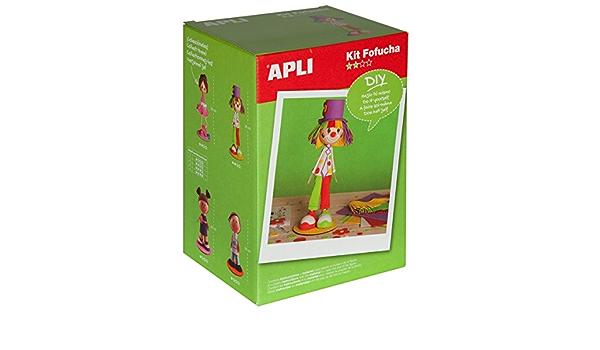 Apli Paper Ref. 13981 Kit Fofucha Payaso: Amazon.es: Juguetes ...