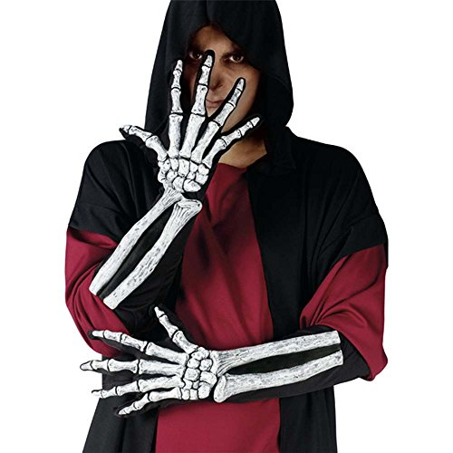 Skeleton Hand Gloves Bone Sleeve