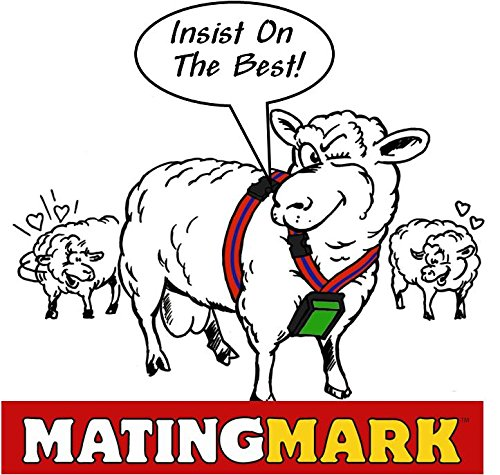 MATINGMARK Deluxe Ram Marking Harness for Monitoring Breeding Sheep & Goats by Rurtec, Crayon Block Marker System, Made in New Zealand - Standard Size (Crayon Sold Separately) by MATINGMARK (Image #4)