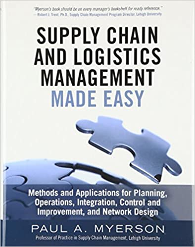 Amazon com: Supply Chain and Logistics Management Made Easy