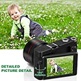 """Digital Camera Video Camcorder, Full HD 1080P 24.0MP MELCAM YouTube Vlogging Camera with Wide Angle Lens and 32GB SD Card, 3.0"""" Screen, WiFi Function, Face Detection, Flash Light, 16 Digital Zoom"""