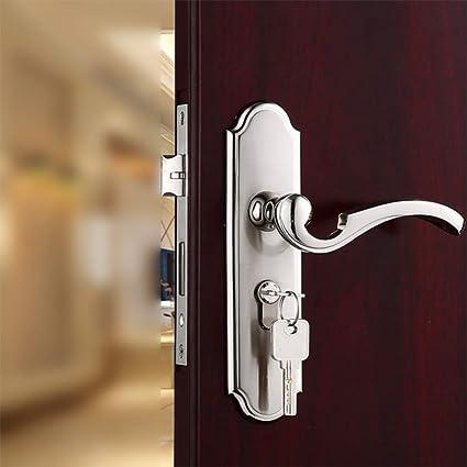 GZF Manillas para puertas Cerradura de puerta cerradura de puerta de interior cerradura de puerta de
