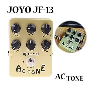 JOYO JF- 13 Tono AC Vox Simulador de Amplificador guitarra pedal de efectos