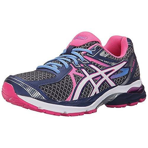 ASICS Women's Gel-Flux 3 Running Shoe, Indigo Blue/White/Hot Pink, 11 M US