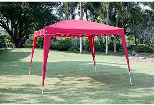 BEAU RIVAGE Tonnelle de jardin Tremiti - 3x3m - Rouge: Amazon.es ...