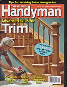 The family handyman magazine march 2014 books for Family handyman phone number
