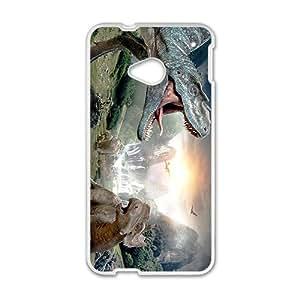 Waterfall Creative Creative Dinosaurs Custom Protective Hard Phone Cae For HTC One M7