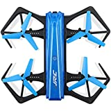 Owill JJRC H43WH 720P WIFI Camera Foldable Altitude Hold RC Quadcopter With 2 Extra Battery (Blue)