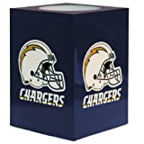 NFL San Diego Chargers Square Flameless Candle