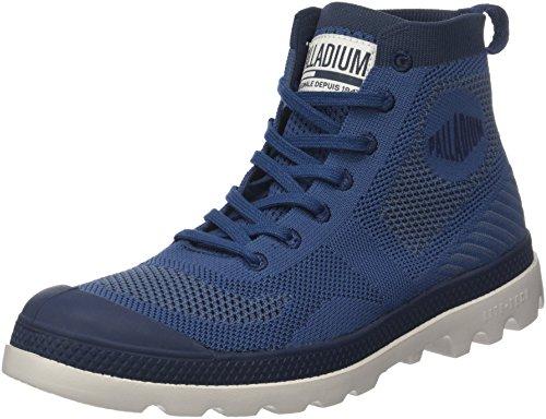 Palladium Pampa Hi Lite Knit, Sneaker a Collo Alto Unisex – Adulto Blu (Blue Shadow/Moonbeam L78)