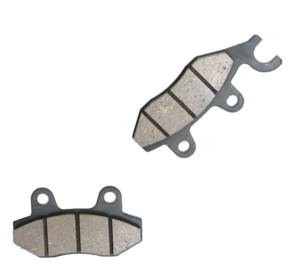 Front Right Brake Shoe Pads Semi-met fit SINNIS Street Bike QM125 QM 125 Stealth 125-2D 08 09 10 2008 2009 2010 1 Pair(2 Pads) CNBK