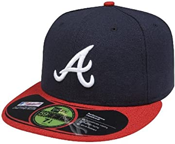 Amazon.com   MLB Oakland Athletics Authentic On Field Road 59FIFTY ... 706edf423f72