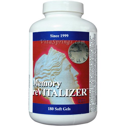 Memory reVITALIZER by Dr. William K. Summers, Memory Enhancement, 180 Softgels